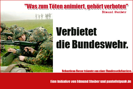 Verbietet die Bundeswehr!