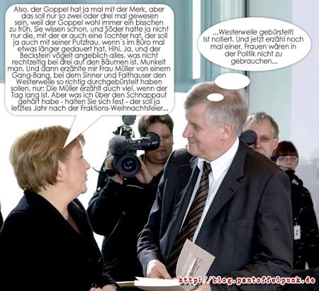 Im Reichstag gibts koa Sünd...