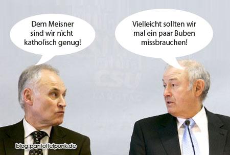 Annäherungsversuch der CSU an Kardinal Meisner