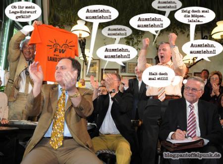 Partystimmung und gute Laune bei den FW