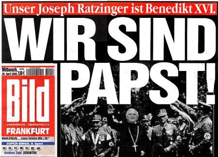 Ratzinger, Du Fascho-Sau!