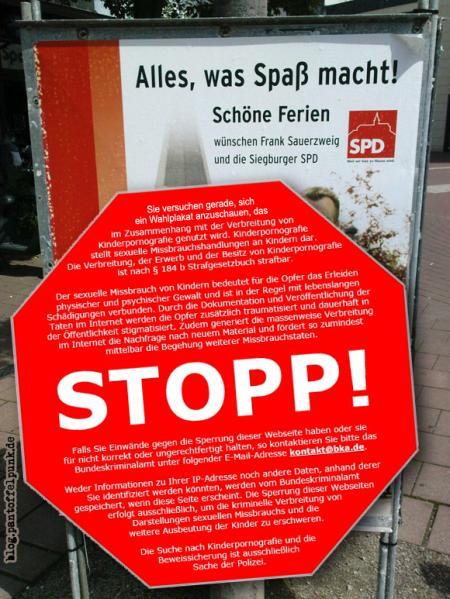 SO nicht, Herr Sauerbier äh Sauerzweig!
