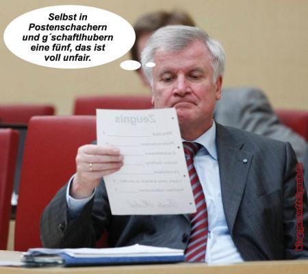 Seehofer am Arsch. CSU vor dem Aus?
