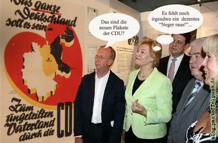 Steinbach, Du alte Nazisau, kapitulier doch endlich... (auch Moers)