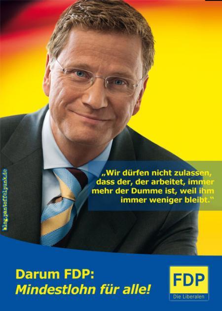 Mit der FDP für den Mindestlohn