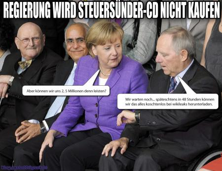 Steuers&#252;nder CD wird doch nicht gekauft
