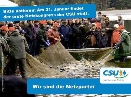Netzkongress  der CSU 2011