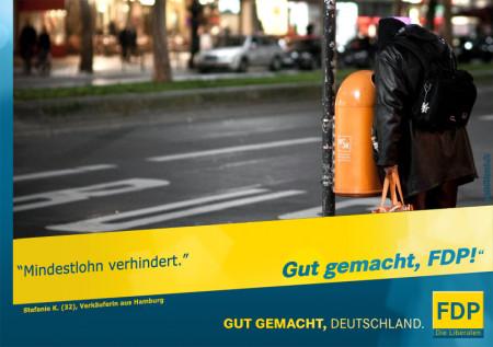 Mindestlohn & FDP