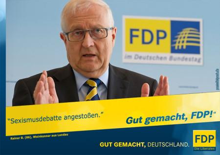 Sexismus & FDP