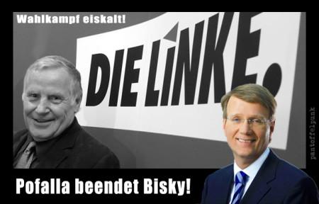 Pofalla beendet Bisky!